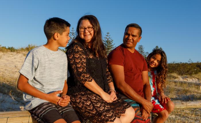Multi-cultural family